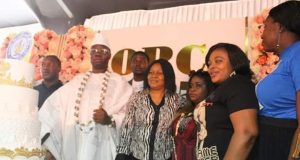 OPC leader/founder, Gani Adams at the 25th celebration of the organisation