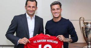 Philippe Coutinho joins Bayern Munich