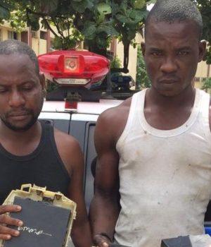 Sodiq Musa and Saidu Atiku arrested by RRS operatives