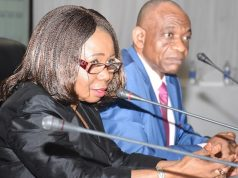 Mary Uduk, SEC's AG DG at the CMC Meeting