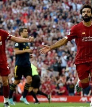 Salah hits it twice to beat Arsenal 3-1
