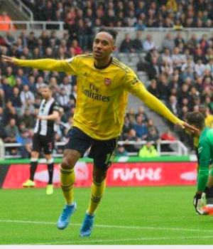 Aubameyang has scored 32% of Arsenal's Premier League goals since his debut in February 2018