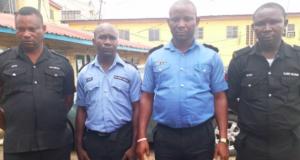 Inspector Fabiyi Omomayara, Sergeant Olaniyi Solomon, Sergeant Solomon Sunday and Corporal Aliyu Mukaila