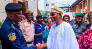 Rauf Aregbesola at the Internal Affairs ministry