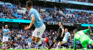 Manchester City have scored eight goals in their last two league games against Brighton