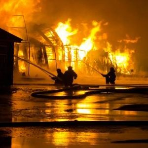 Toyota fire outbreak