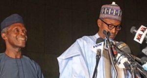 VP Osinbajo and President Buhari