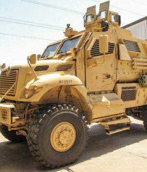 Mine resistance vehicles