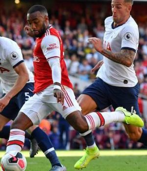 Arsenal battle to rescue Tottenham defeat