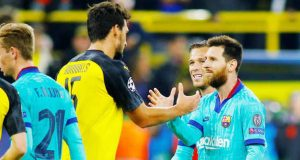 Messi returns as Borussia Dortmund draw with Barcelona
