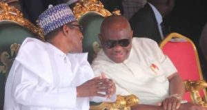 President Buhari with Gov. Wike