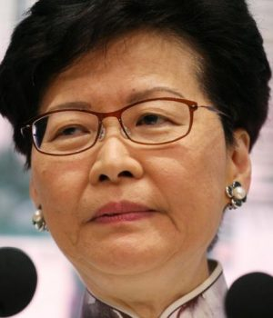 Carrie Lam, Hong Kong leader