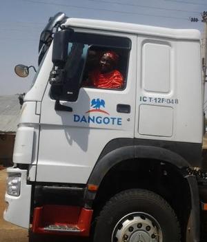 Dangote Truck