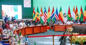 ECOWAS Leaders at the summit