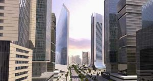 Eko Atlantic City view
