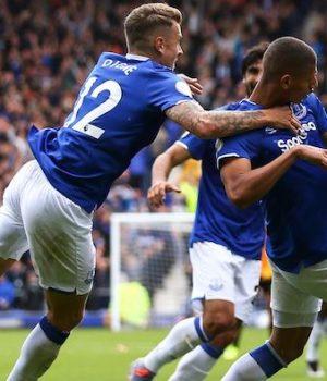 Everton beat Wolves 3-2