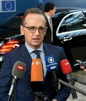 German Foreign Minister Heiko Maas says the new ban will last 6 months