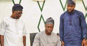 Gov. Makinde signs the budget
