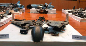 Iranian drones used to blow up Saudi Aramco