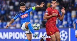 Napoli dazzles Liverpool 2-0 in Champions League cracker