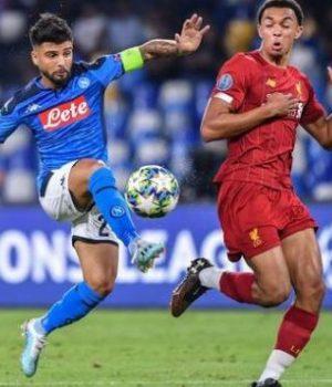 Napoli dazzles Liverpool 2-0 in Champions League cracker
