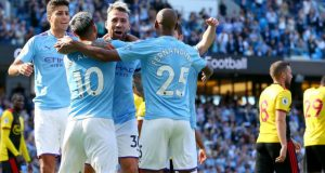 Man City dazzle Watford with 8-0 goals