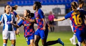 Barca women rout champions Atletico 6-1