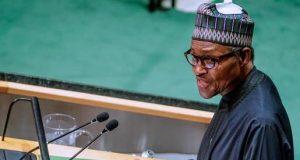 President Buhari addresses the UNGA