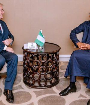 President Marcelo Rebelo de Sousa of Portugal with President Buhari