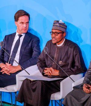 President Buhari addresses the UN
