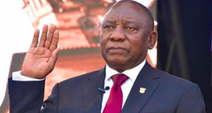 President Cyril Ramaphosa of S. A