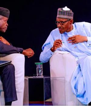 Yemi Osinbajo and President Buhari