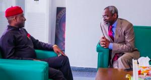 Allen Onyeama, with Femi Gbajabiamila