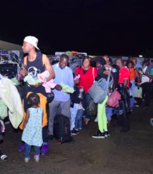 Another set of Nigerians in S. Africa return home