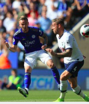 Maddison's long-range finish helped Leicester come from behind