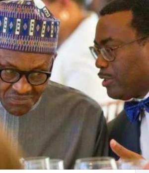 President Buhari and Adesina