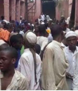 Rescued religious persons in Kaduna