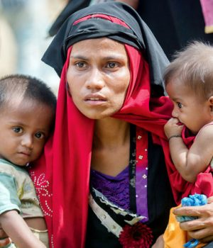 File picture of Rohingya refugee