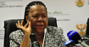 Naledi Pandor, S. Africa's Foreign Affairs Minister