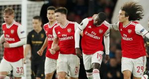 Arsenal's Nicolas Pepe strike twice