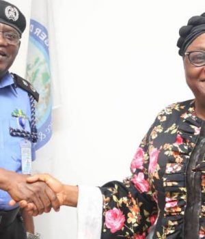 Bayelsa Police CP Uche Anozia with NDDC Dr Akwagaga Enyia