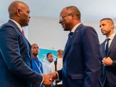Elumelu with Cape Verdean President Carlos do Canto Monteiro