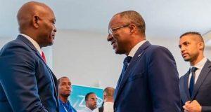 Elumelu with Cape Verdean President Carlos do Canto Monteiro