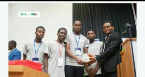FUTA's Team Audify won gold at 2019 Blockchain Hackathon competition
