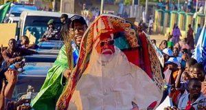 Gov. Abdullahi Ganduje's convoy