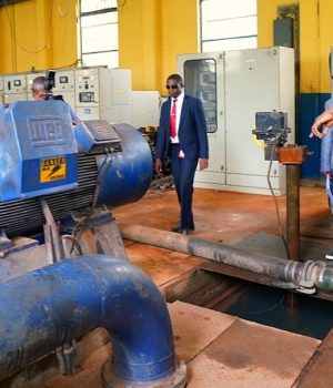 Gov. Sanwo-Olu inspects Adiyan Water project