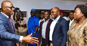 Gov. Sanwo-Olu meets labour leaders in Lagos