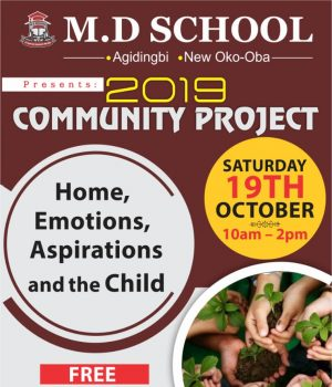 M.D Nursery and Primary School 2019 community projects