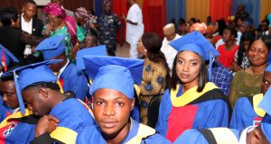 Some of the graduands