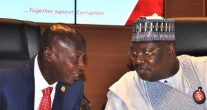 Magu With Senate President Ahmed Lawan